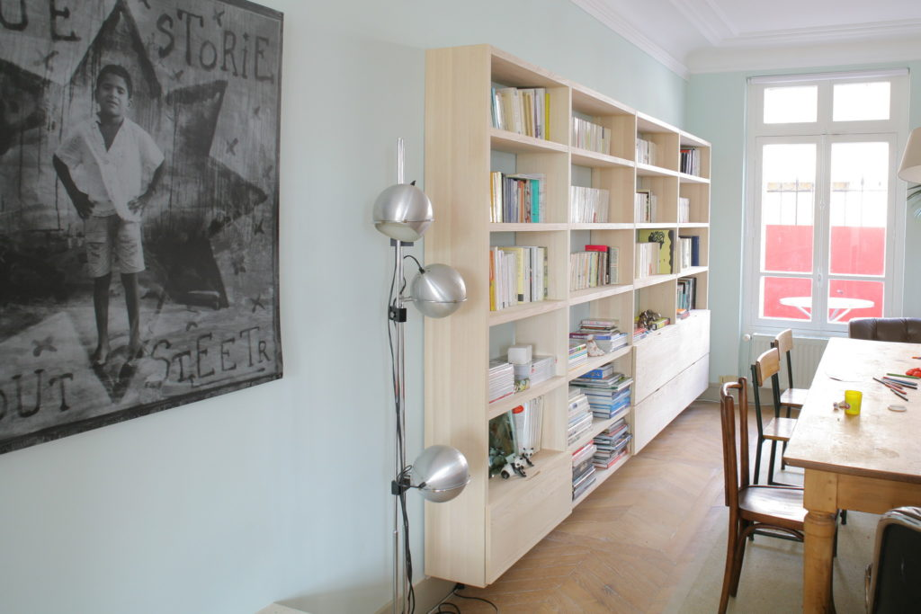 Nonjetable-Custom-Made-Solid-Ash-Library