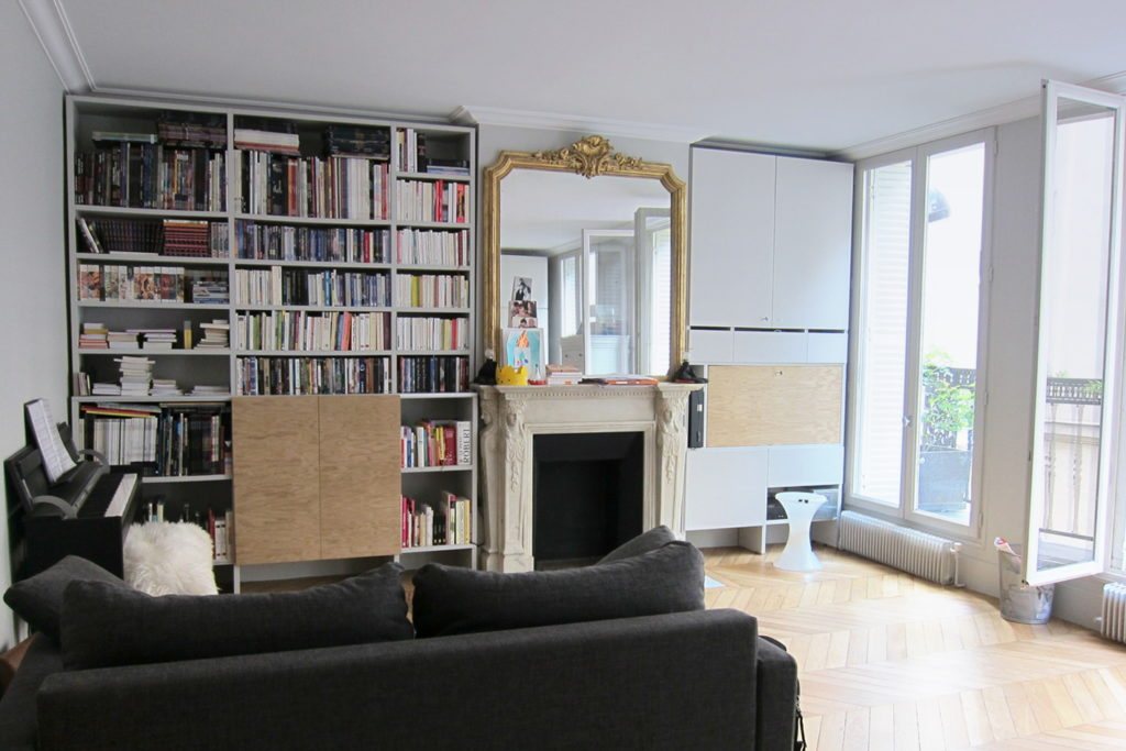 Nonjetable-Oak-Gray-Library-with-TV-and-Work-Space-03