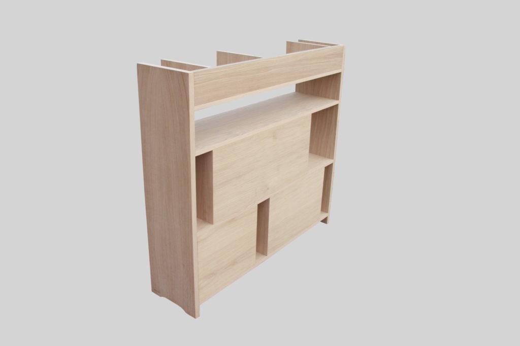 Nonjetable-Secret-Shelf-Oak-Bookshelf-Backside