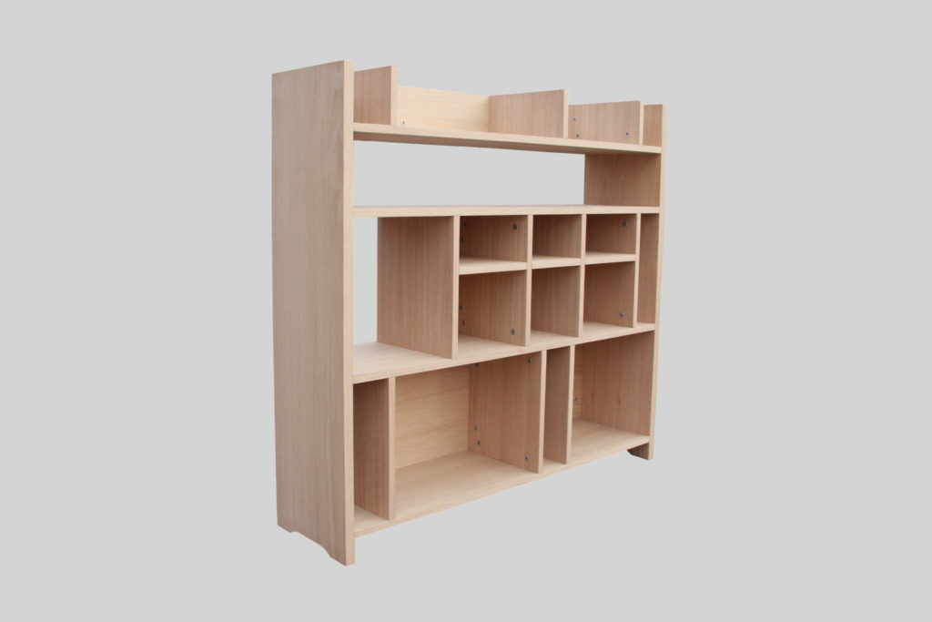 Nonjetable-Secret-Shelf-Oak-Bookshelf-Front