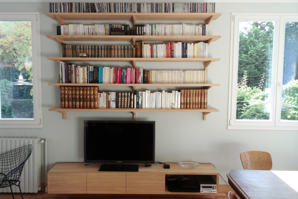 Nonjetable-Solid-Pine-Wall-Console-Library-and-TV-Wall-Cabinet