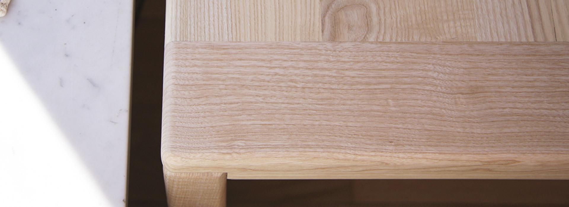 Nonjetable-à-Propos-Séparateur-Table-Bois