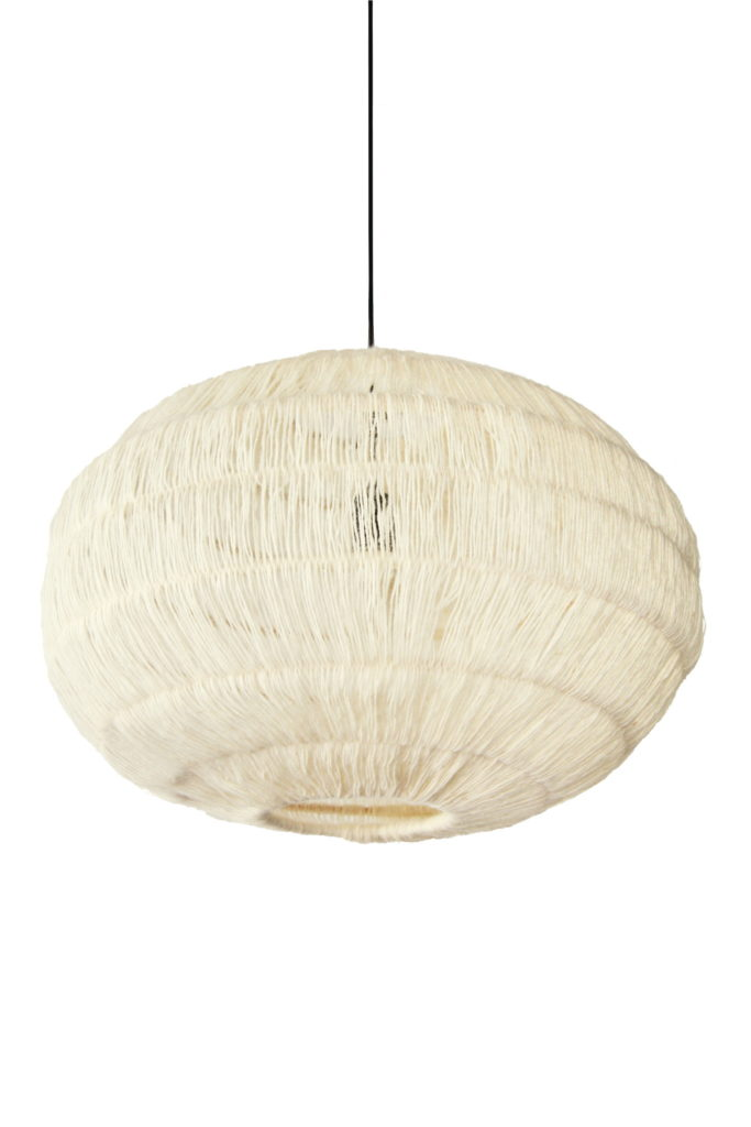Nonjetable-Nonjetable-White-Wool-Pendant-Lamp