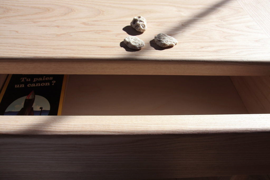 Nonjetable-Solid-Ash-Made-To-Measure-Desk-Detail-Drawer